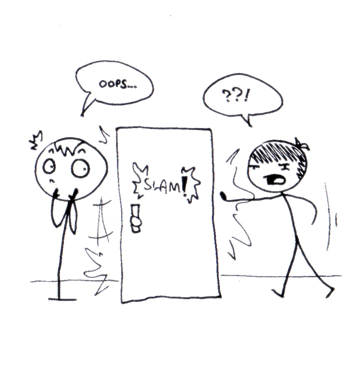 You do NOT decide you are tired of holding the door and let go of it. You start holding the door and you have to keep holding it until people are done ...  sc 1 st  Laughing With Aspergers - Typepad & Social Skills: Holding the Door Open - Laughing With Aspergers